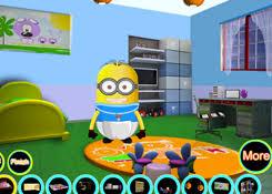 juegosdeminion com juego baby minion room decor jugar juegos
