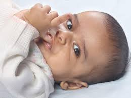 My Baby Is Chewing On His Crib by Should I Try To Stop My Baby From Her Thumb Babycenter