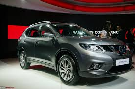nissan x trail auto expo 2016 team bhp