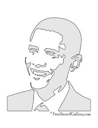 barack obama stencil free stencil gallery