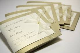 Diy Wedding Ceremony Program Bluebell Wedding Invitations And Stationery Supplies