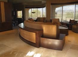 Curved Sofa Tables And Fred Studios Italian Wenge Paldao And Sofa Table