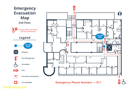 fire exit floor plan template awesome emergency operations plan template best templates