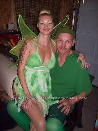 Tinkerbell Peter Pan Halloween Costumes Coolest 50 Homemade Peter Pan Characters Costumes