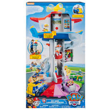 paw patrol my size lookout tower with exclusive vehicle