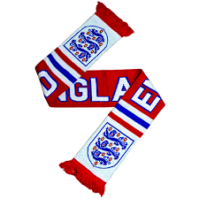 england scarf red national football museum