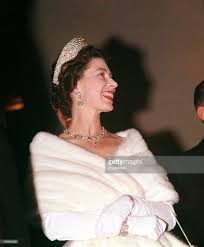 1961 royal tour to pakistan queen elizabeth ii is pictured at a