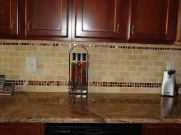 Glass Kitchen Tiles For Backsplash by White Subway Tile With Glass Accent Backsplash Our House