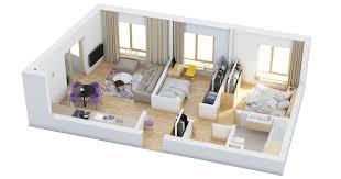 bedroom plan 2 bedrooms plan