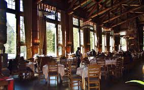 Lake Yellowstone Hotel Dining Room by The Best Restaurants Near National Parks Travel Leisure