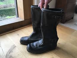 leather motorbike boots size 40 leather motorbike boots in axminster devon gumtree