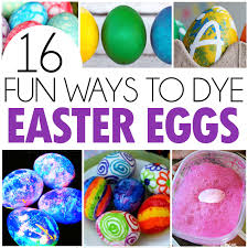 easter egg kits 16 ways to dye easter eggs i heart arts n crafts