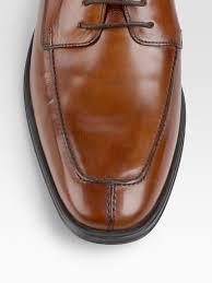 cole haan air adams split toe oxfords in brown for men lyst