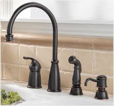 bronze faucets for kitchen fascinating bronze kitchen faucet of four hole faucets pfister