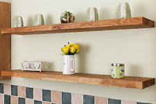 Thick Wood Floating Shelves by Wooden Floating Shelves Ebay