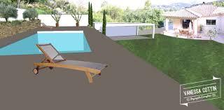 jardin paysager avec piscine conception d u0027un jardin en restanques avec piscine à aubagne