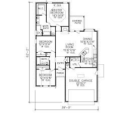 Double Master Bedroom Floor Plans by Plan 6096 26 Perry House Plans