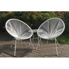 Egg Bistro Chairs Egg Bistro Set Grey Odl Outdoor Living