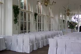 how to make wedding chair covers white chair covers make a big impact wedding photos of the