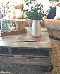diy rustic farmhouse pallet coffee table u2022 ad aesthetic