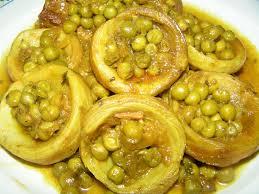 cuisiner des petits pois recette artichauts aux petits pois cuisine algérienne