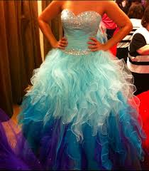 new light blue tiered skirt ball gown prom dresses sweetheart