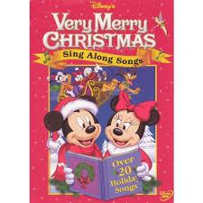 disney s sing along songs merry dvd target