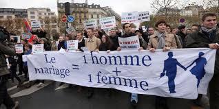 mariage pour tous civitas manifeste contre le mariage pour tous des militantes
