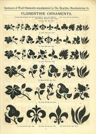 florentine ornaments from from hamilton wood type catalog 14 1899