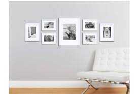 Picture Frame Wall by White Picture Frames Maintenance Guidelines Exist Decor