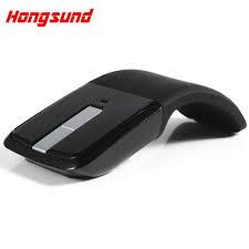 bureau en gros souris 2 4 ghz arc touch sans fil souris récepteur usb souris pour pc