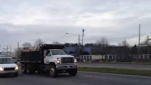 gmc c8500 topkick dump truck youtube