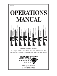 dpms manual trigger firearms magazine firearms
