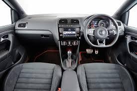 polo volkswagen interior road test vw polo gti ebizmototring thegandra naidoo