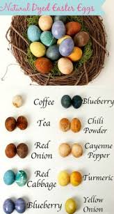 how to dye beautiful easter eggs naturally easter egg and