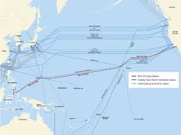 Undersea Cable Map Sea Us Underwater Cable