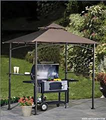 bbq tent outsunny outdoor 2 tier bbq grill canopy tent 8