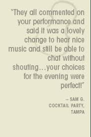 Cocktail Party Quotes - tampa florida wedding musicians tampa bay string quartets string