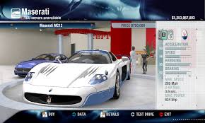 maserati mc12 released eden games maserati mc12 v2 physics performance packs