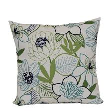 green gray shop outdoor decorative pillows at lowes com