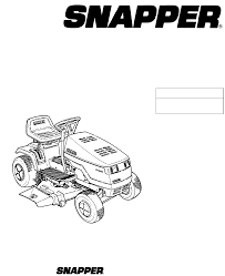 28 snapper repair manual 281223bve snapper lawn mower
