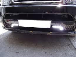 led lights for body shop range rover led daytime running lights the body shop