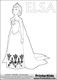 21 disney frozen elsa coloring pages disney elsa colouring pages