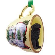 newfoundland ornament figurine teacup