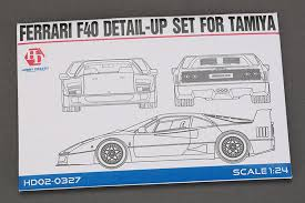 f40 parts 1 24 f40 detail up set for t pe metal parts resin hd02