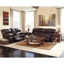 brown living room set damacio dark brown reclining living room set signature design by