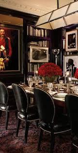 Erika Brechtel Dining Rooms Ralph Lauren Mombasa Mist - Ralph lauren dining room