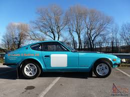 datsun race car datsun 240z rally car race hill climb sprint