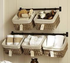 Hanging Baskets For Bathroom Storage Lofty Inspiration Wall Hanging Basket Baskets For Bathroom Storage