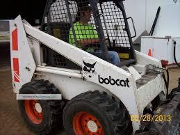 Bobcat 843 Skid Steer Loader With Standard And 3 Way Bucket